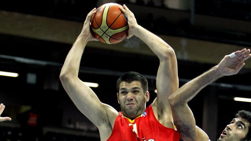 Felipe Reyes, el pívot andaluz que se ha retirado de la selección española