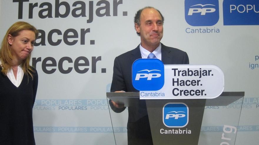 """Diego advierte que el PP es el único partido que mantendrá a Cantabria """"libre"""" del impuesto de sucesiones"""