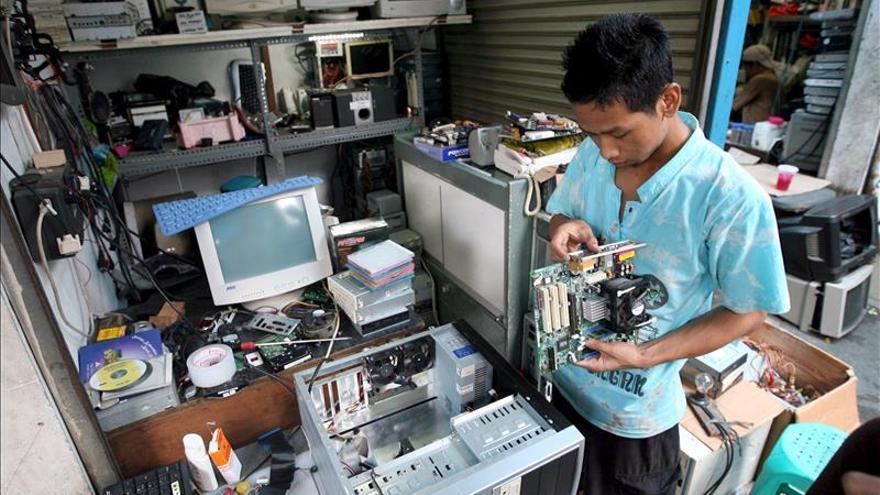 La basura electrónica es una bomba ecológica para el planeta, según la ONU