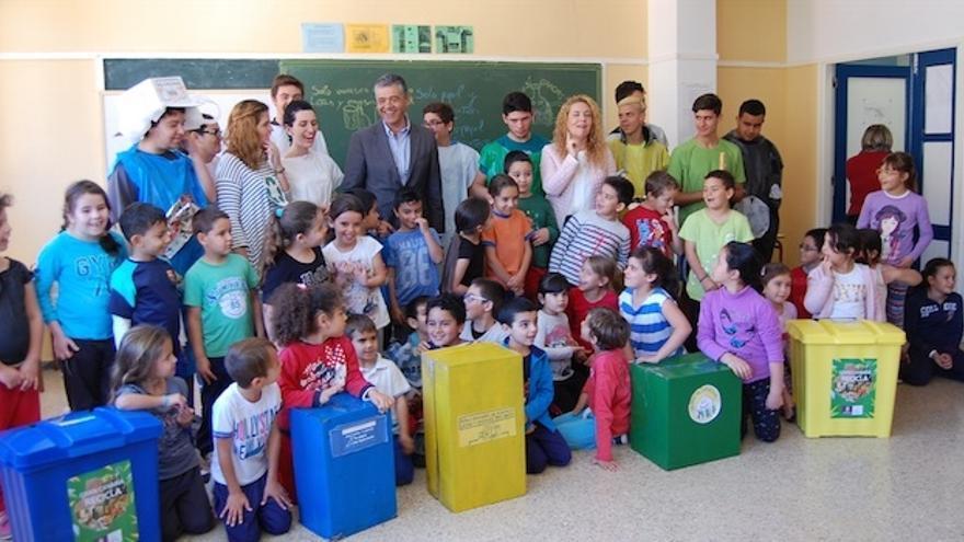 Las Ecoescuelas preservan los valores naturales entre los escolares del sur de Gran Canaria.