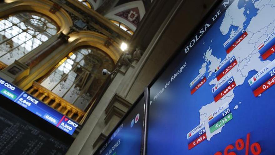 La prima de riesgo cae a 129 puntos y el bono sigue por debajo del 1,7 %