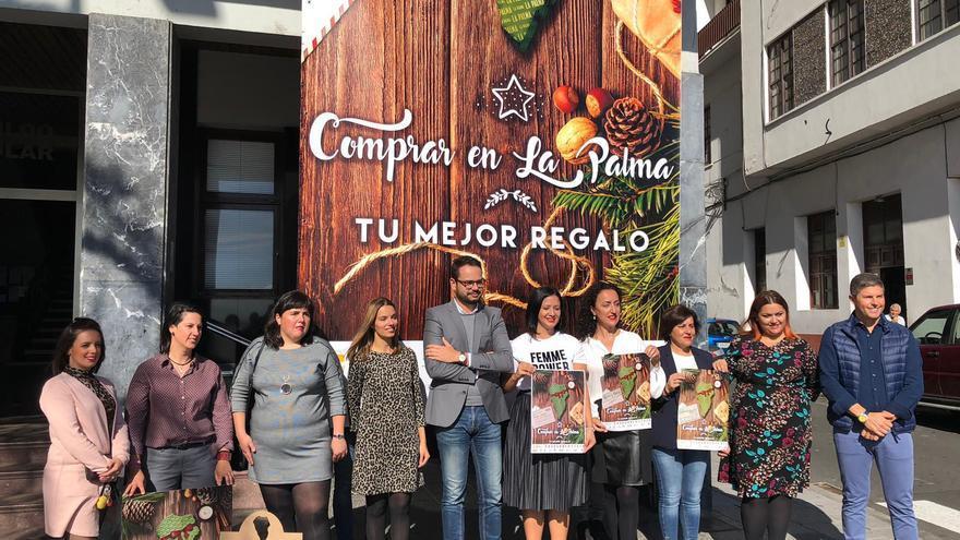 Imagen de archivo de la presentación de la campaña de 'Navidad Comprar en La Palma'.
