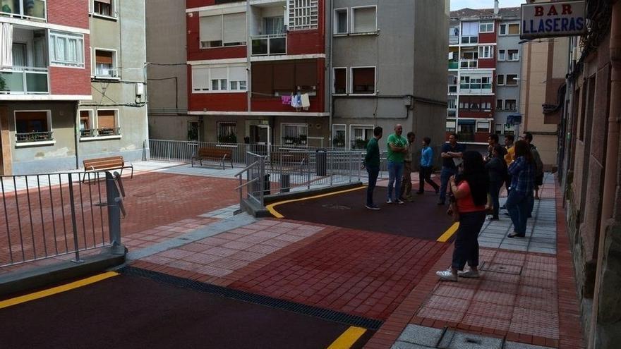 Ayuntamiento de Sestao concluye las obras de reurbanización del Grupo Francisco Llaseras
