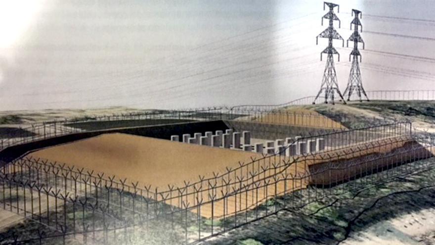 Proyección del almacén temporal individualizado en el proyecto de la central nuclear de Cofrentes