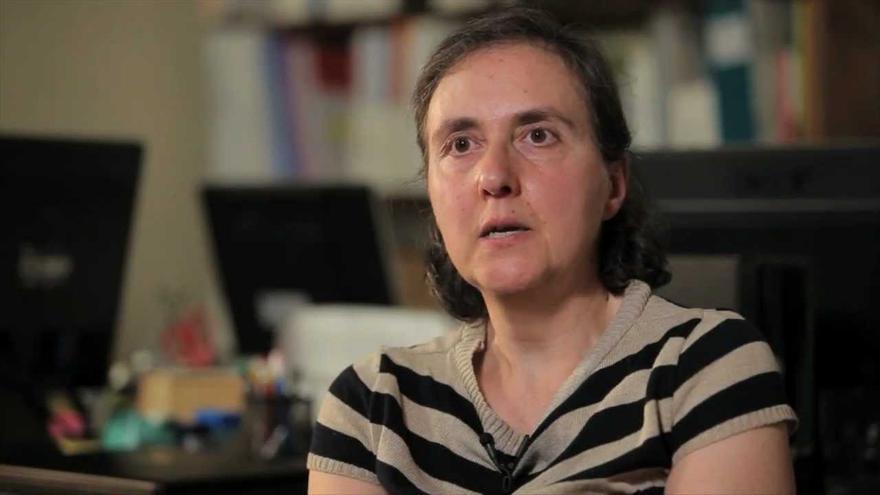 """Imagen extraída de la entrevista realizada a Margarita Padilla para el documental """"¿Generación perdida?"""" (Documentos TV)"""