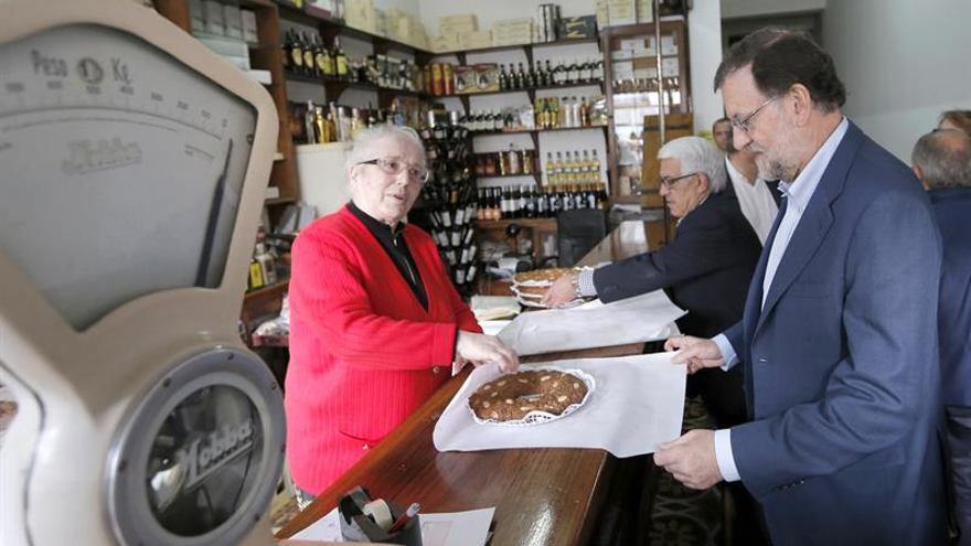 El presidente del PP y del Gobierno en funciones, Mariano Rajoy