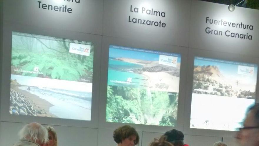 La Palma, en Salon des Vacances, en Bruselas.