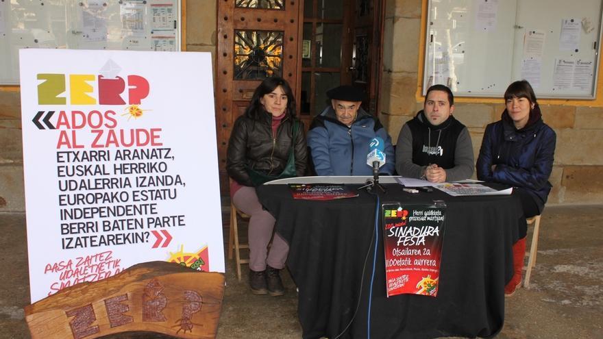 """Un colectivo pide un referéndum en Etxarri-Aranatz para preguntar a los vecinos sobre una """"Euskal Herria independiente"""""""