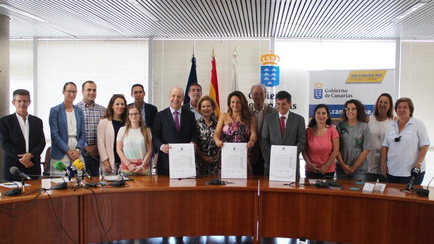 Presentación del Seminario 'Internacionalización y Responsabilidad Social en la Empresa Canaria'