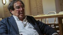 Francesc de Carreras en un momento de la entrevista