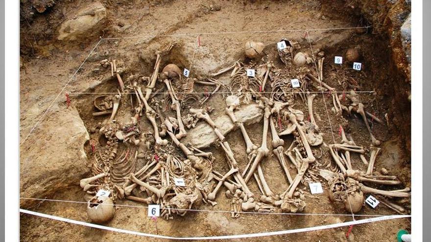 Desde 2001 se han recuperado los restos de 110 víctimas de la Guerra Civil en Euskadi tras 46 exhumaciones