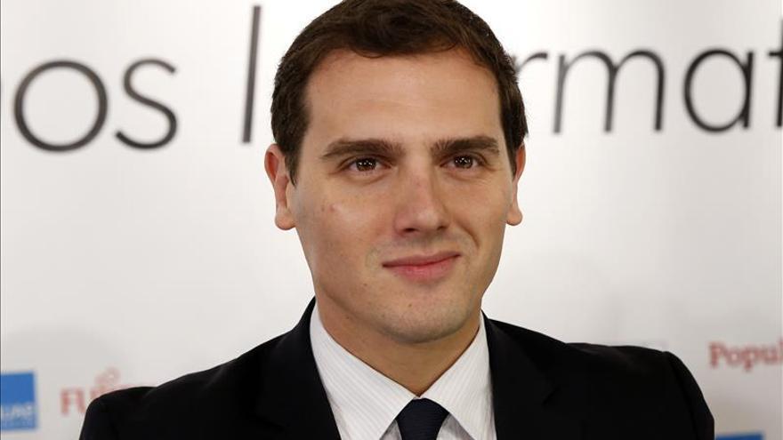 Rivera avanza recurso conjunto de PP,PSOE y C's contra la Junta de Portavoces