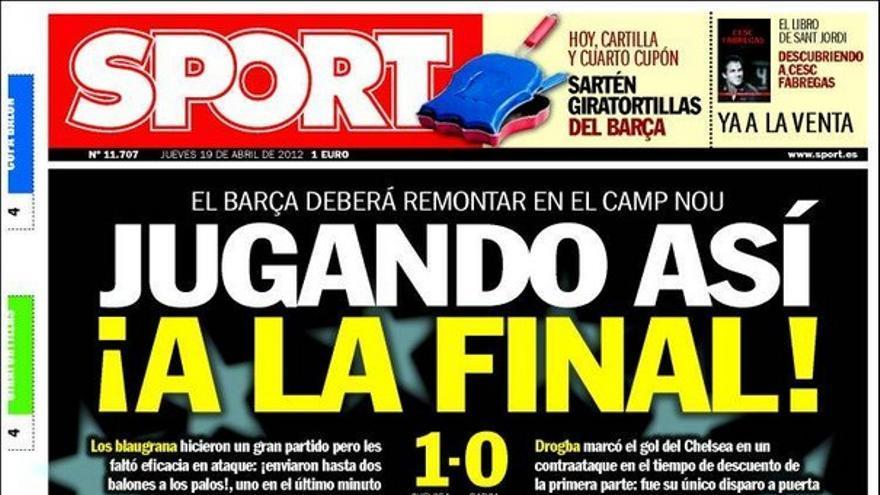 De las portadas del día (19/04/2012) #15