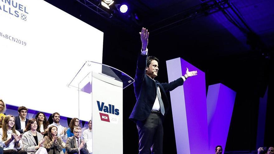 Manuel Valls, en la presentación de su candidatura