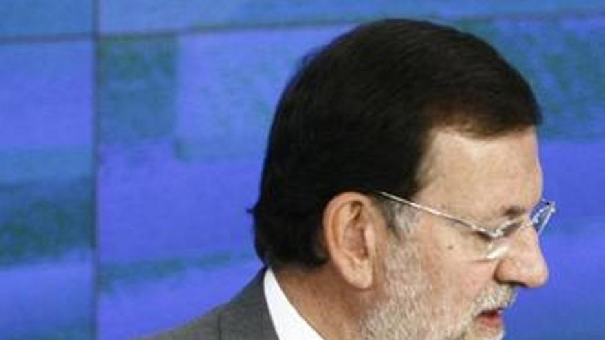 Rajoy en Génova