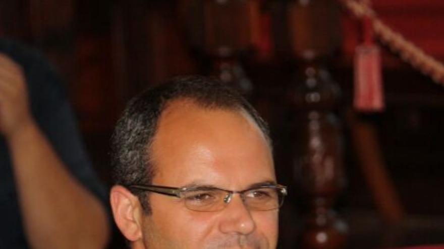 Antonio Manuel (Toni) Acosta Felipe, candidato de Coalición Canaria a la Alcaldía de Santa Cruz de La Palma.