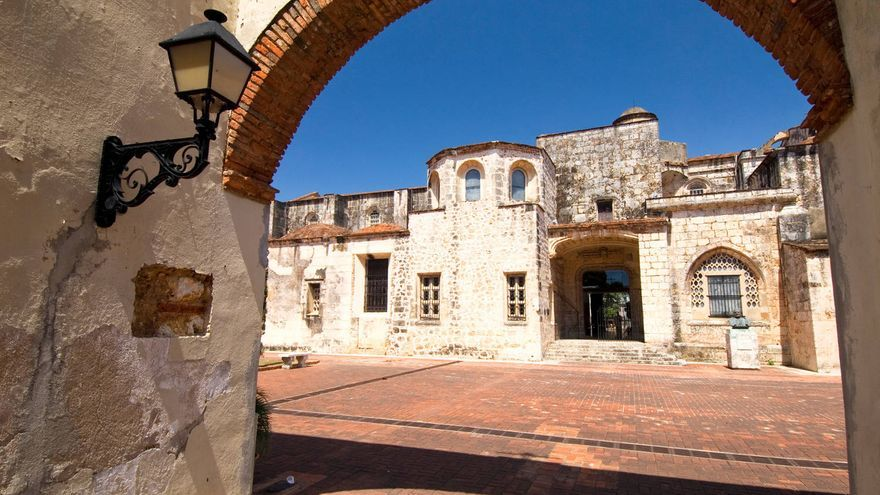 Imagen de la Zona Colonial de Santo Domingo. TURISMO REP. DOM.