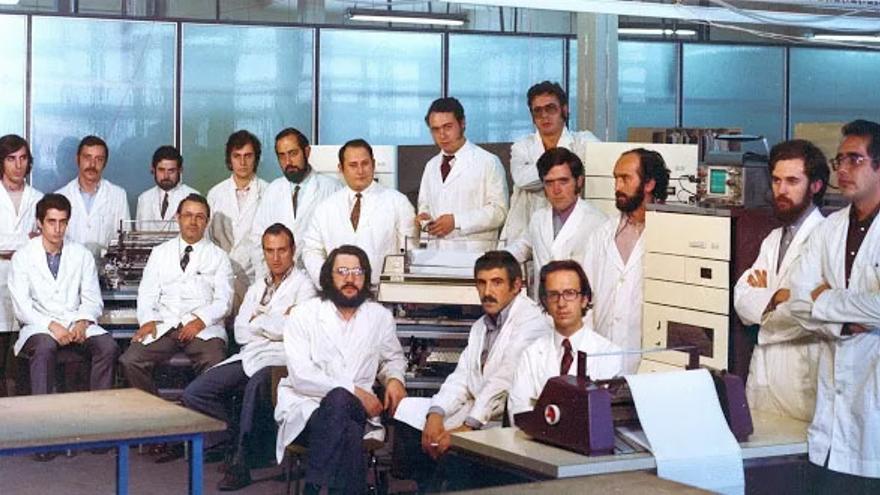 Plantilla del departamento de Investigación y Desarrollo de Telesincro