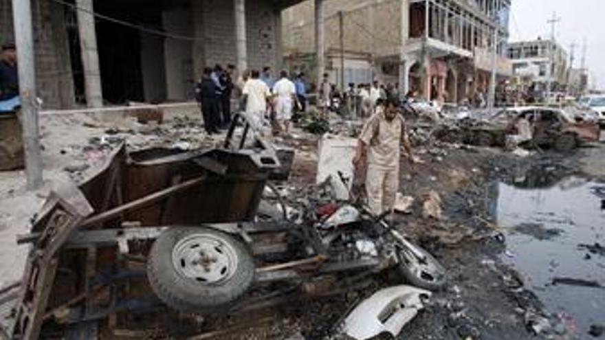 Atentado en Bagdad, Irak
