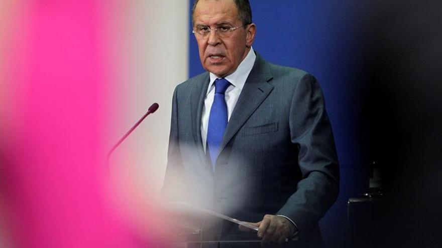 Lavrov rechaza propuestas de Estados Unidos para Alepo
