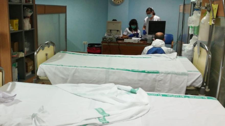 Sala preingresos hospital albacete