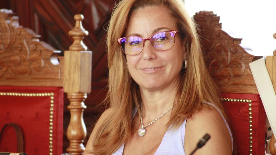 Marta Poggio, concejal del grupo Popular en el Ayuntamiento de Santa Cruz de La Palma.