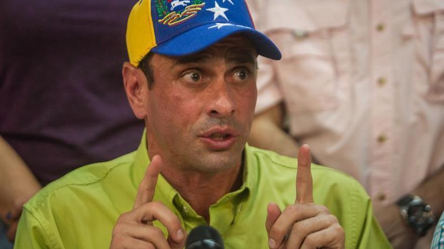 Capriles asegura que Venezuela no tiene futuro con el Gobierno de Maduro