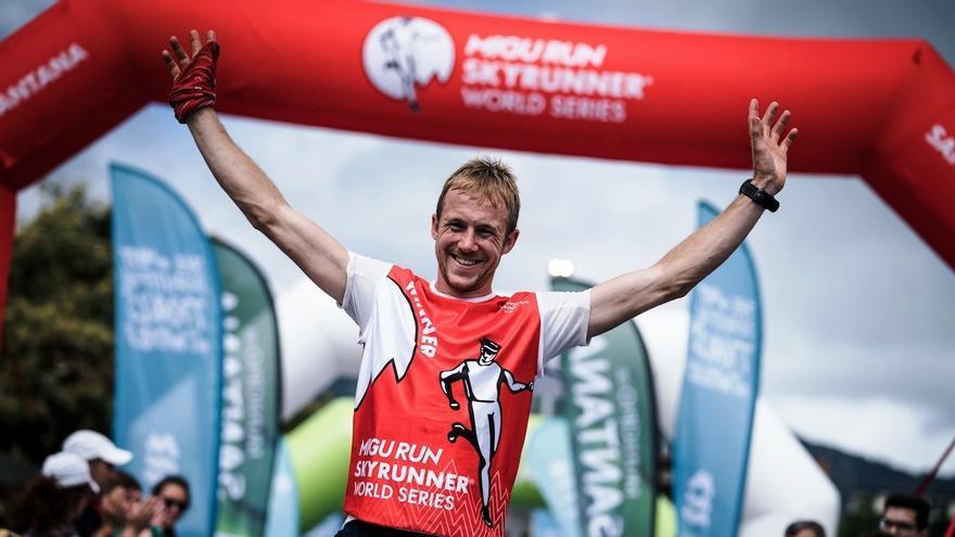 El corredor inglés Jonathan Albon.