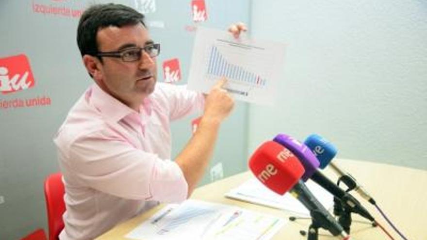Daniel Martínez, coordinador regional de Izquierda Unida en Castilla-La Mancha / Foto: Izquierda Unida