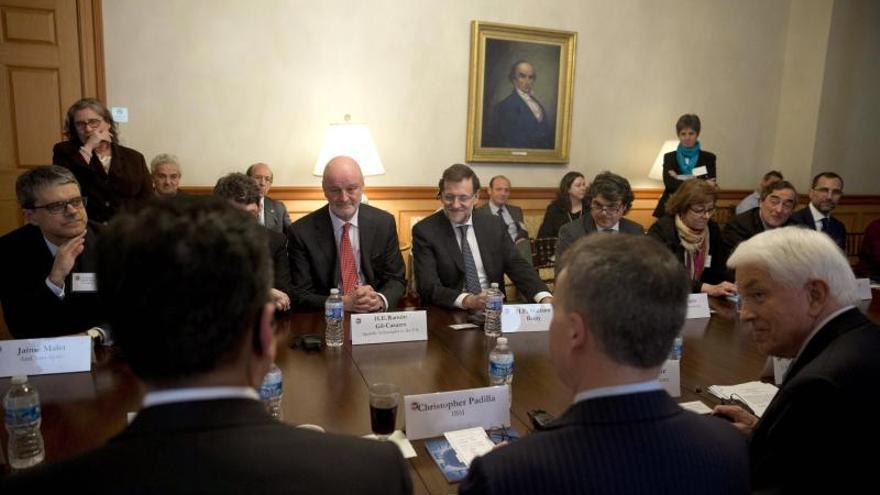 Rajoy le muestra a EE.UU. el cambio de ciclo de una España con derecho a la esperanza