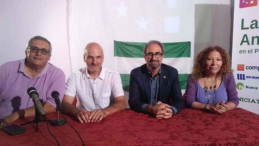 """El andalucismo se integra en la """"cooperativa política"""" Compromiso por Europa"""