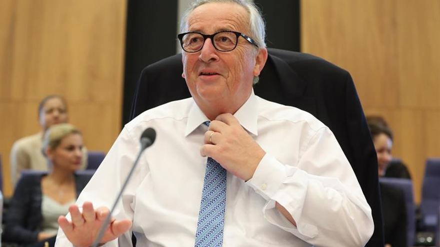 Juncker resta importancia a las acusaciones sobre el vídeo polémico y pide respeto