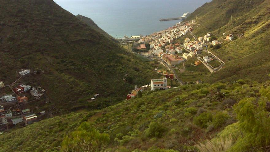 Valle de Tahodio, en Santa Cruz de Tenerife.