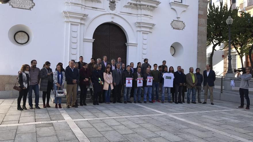 Asamblea Extremadura concentración desaparecidos