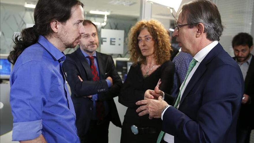 Iglesias dice que Susana Díaz ha dado pasos interesantes pero no suficientes