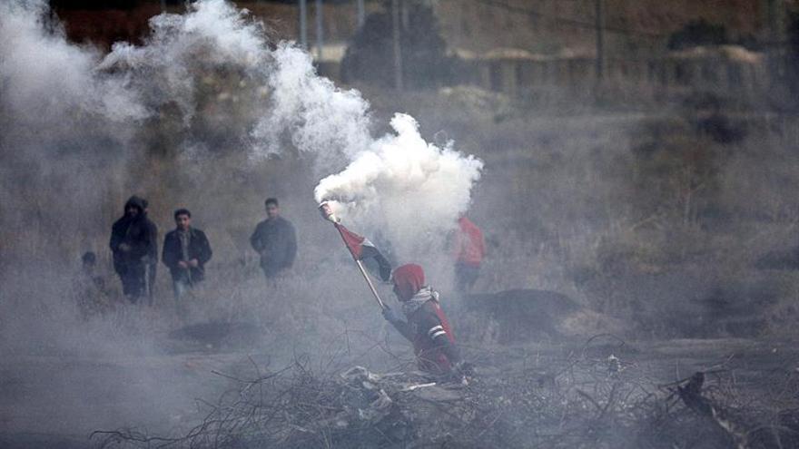 La aviación israelí bombardea posiciones de Hamás tras el lanzamiento de cohetes
