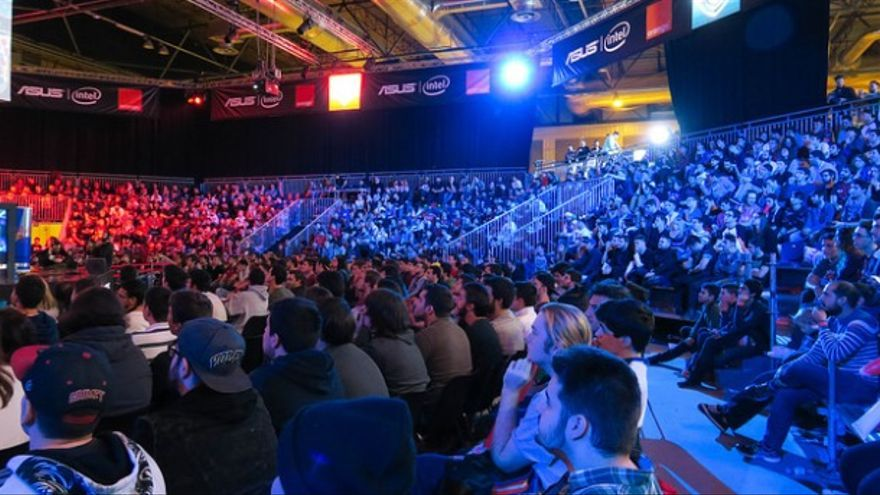 Gamergy de diciembre 2016, en la Final Cup League of Legends