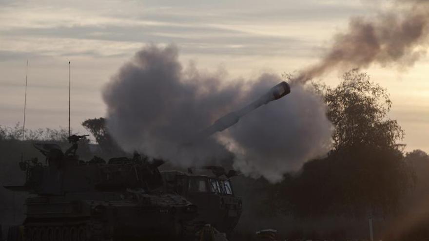 Cinco menores palestinos heridos en bombardeos de la aviación israelí en Gaza