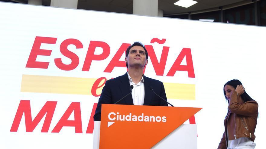 Rivera anuncia su dimisión tras el batacazo de Ciudadanos en las generales