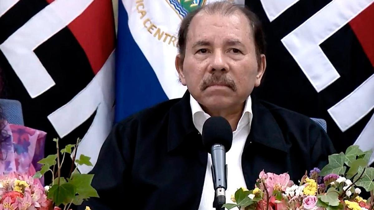 El presidente de Nicaragua, Daniel Ortega, que otra vez buscará su reelección