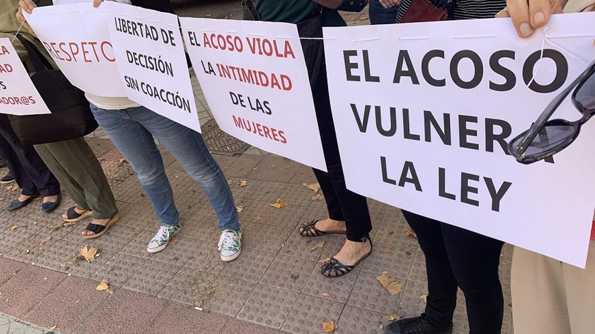 Acción contra el acoso de los grupos antiabortistas