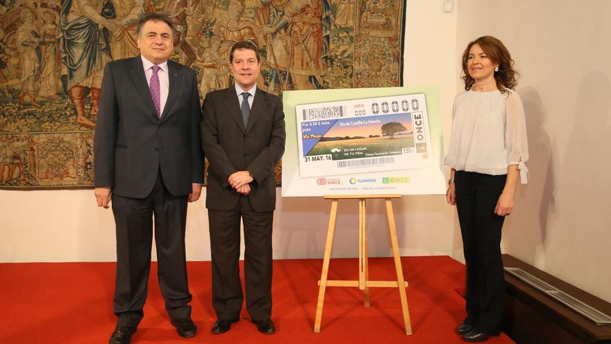 Presentación del cupón de la ONCE