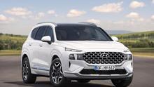 El nuevo Santa Fe utiliza la plataforma de tercera generación de Hyundai.