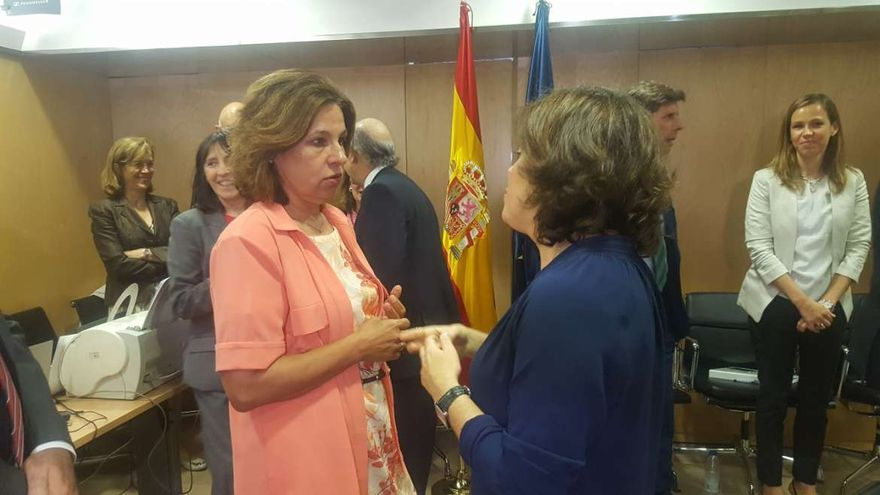 Pilar Blanco-Morales Soraya Sáenz