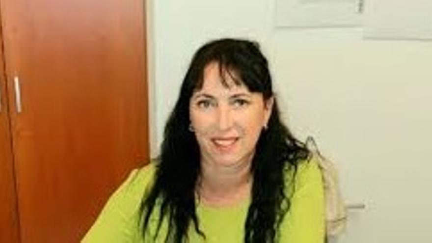 Mercedes Candelario,  concejala de Igualdad del Ayuntamiento de Puntagorda.