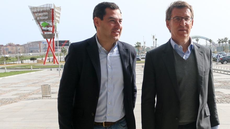 """Moreno afronta el congreso del PP-A con """"mucha fuerza e ilusión"""" para """"transformar Andalucía"""""""