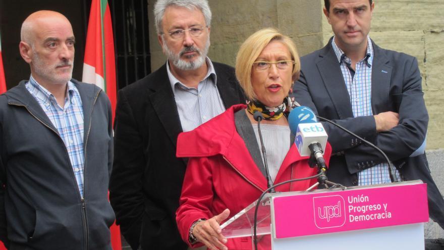 """Díez (UPyD) considera que Sortu """"ha impuesto su estrategia"""" a un PNV que muestra """"laxitud moral"""""""