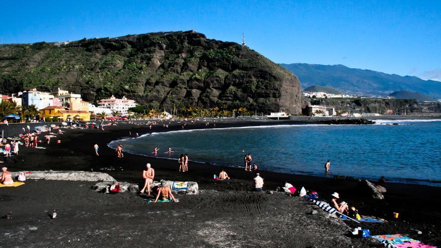 La Playa de Tazacorte es el espacio más valorado por los internáutas en la isla de La Palma.