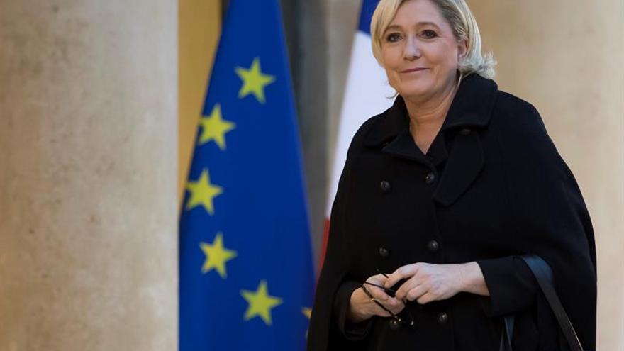 """Marine Le Pen dice que sus ideas """"ya están en el poder"""" en varios países de Europa"""