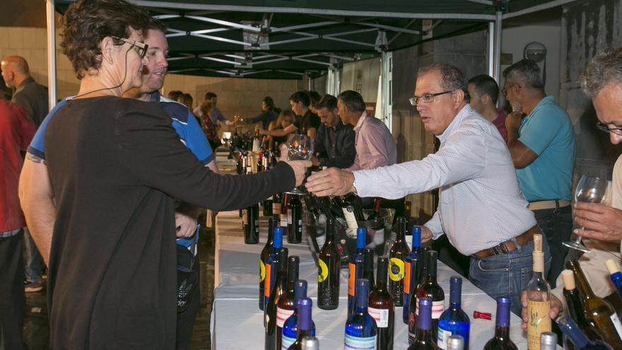 Edición anterior de la Degustación de Vinos Canarios.